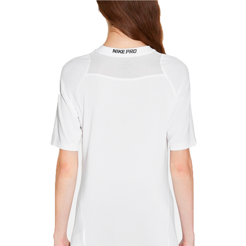 NIKE GLITTER SHORT SLEEVE WHITE TEE