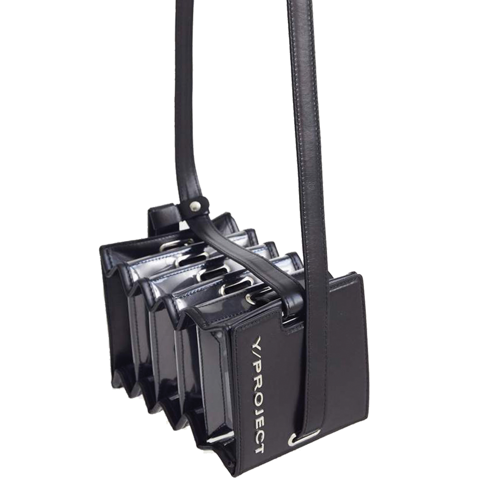 "MINI ""ACCORDION BAG"" BLACK"