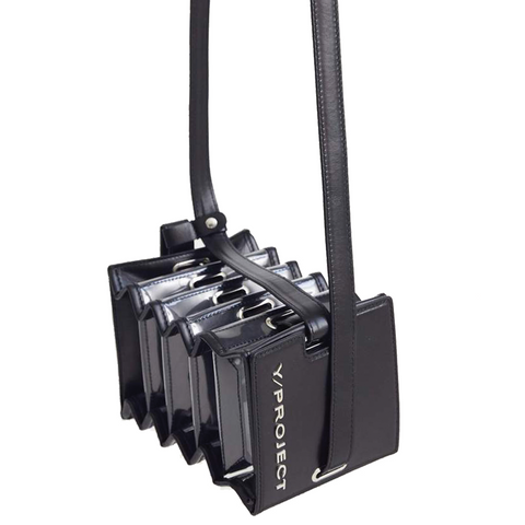 """Mini Accordion Bag"" Black"