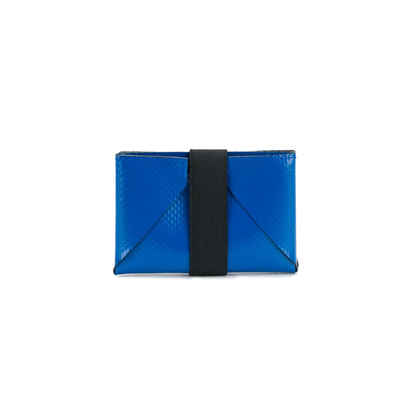 """TRIBECA"" WALLET - BLUE/BLACK"
