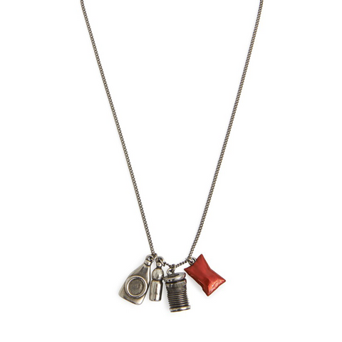 """Waste metal"" Necklace"