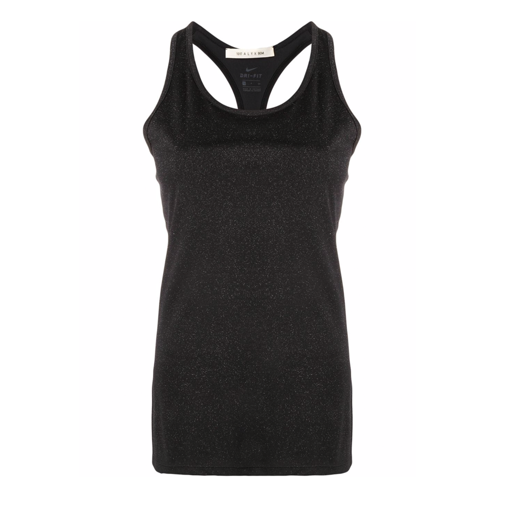 """Nike Training Tank + Glitter"" Black"