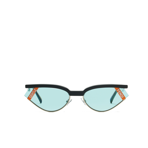 """GENTLE FENDI NO. 1"" BLUE LENS SUNGLASSES"