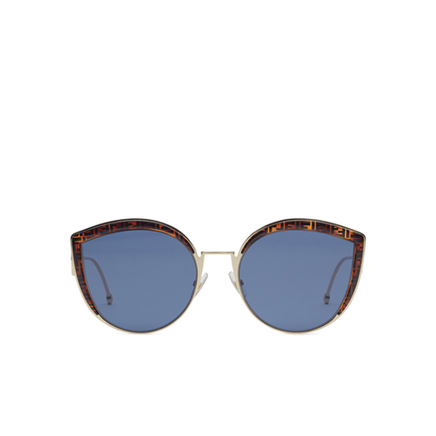"""F IS FOR FENDI"" BUTTERFLY SUNGLASSES"