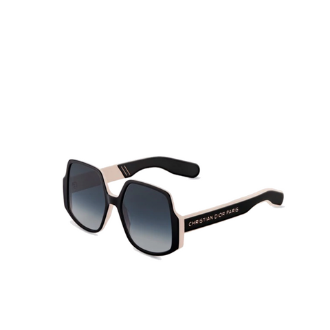 """DIOR INSIDE OUT 1"" BLACK / PINK SUNGLASSES"