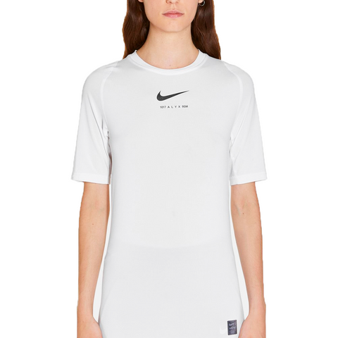 """NIKE Short Sleeve + Glitter"" White"