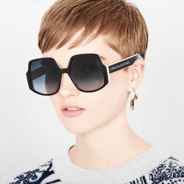 """Dior Insideout 1"" Black Pink Sunglasses"
