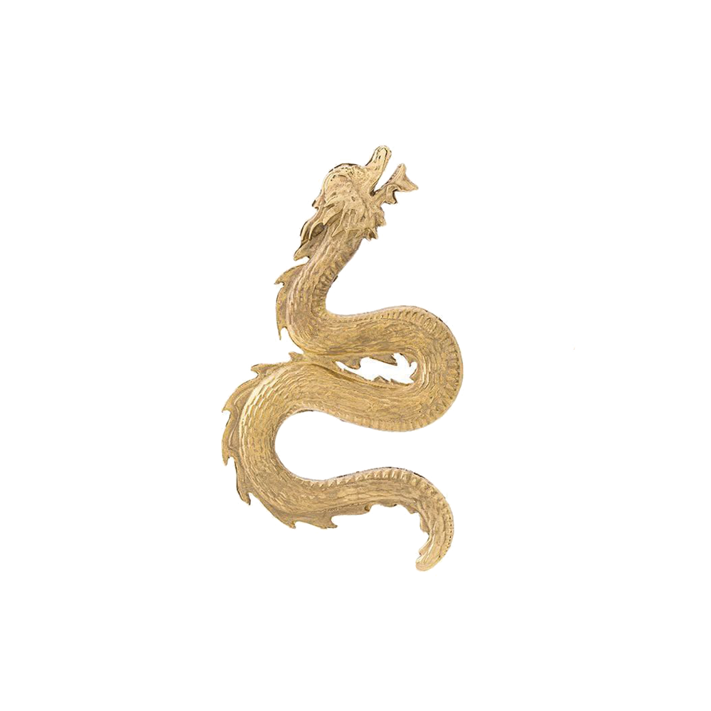 """LARGE DRAGON"" MONO EARRING"