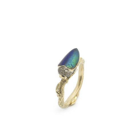 """Stackable Scarab"" Ring"