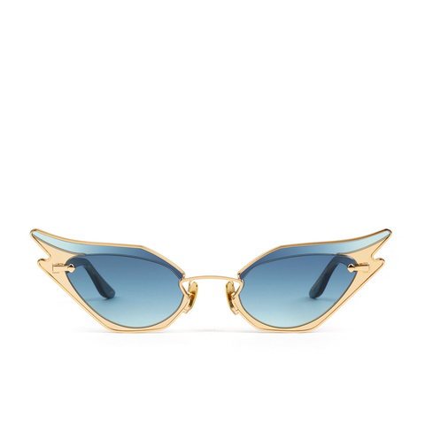 """WILD AT HEART"" BLUE EMBER SUNGLASSES"