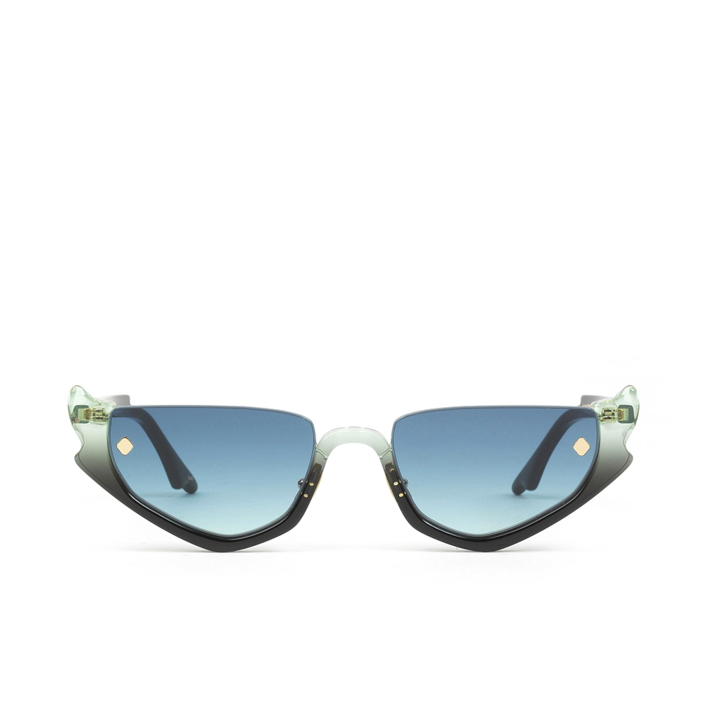 """STRANGER'S RAY"" BLUE GLORIA SUNGLASSES"