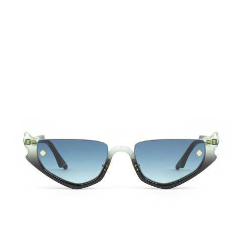 """Strangers Ray"" Blue Gloria Sunglasses"