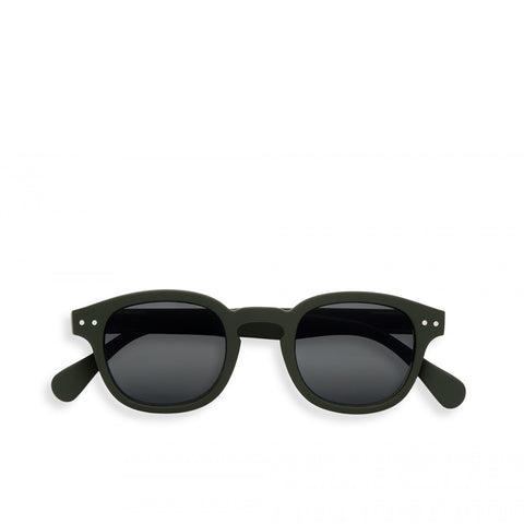 """C"" Kaki Green Sunglasses"