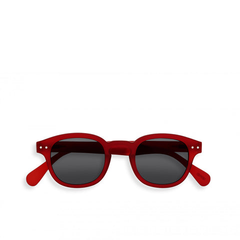 """C"" Red Sunglasses"