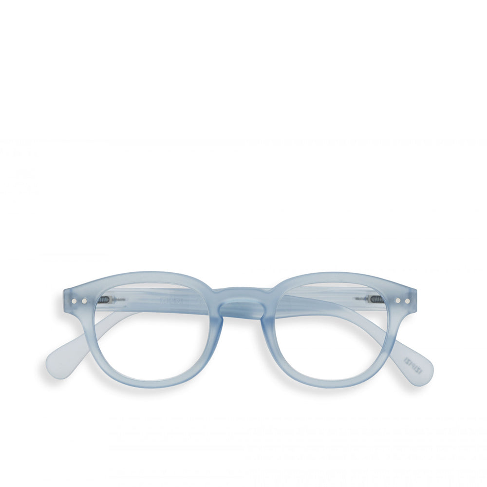 """C"" Aery Blue Reading Glasses"