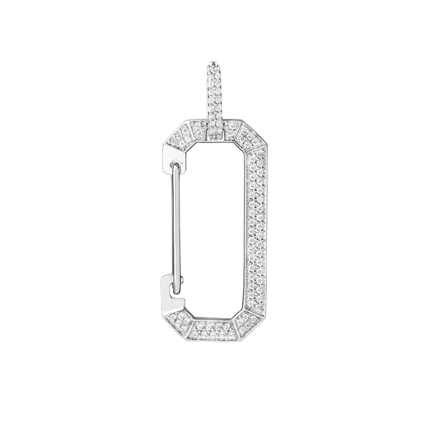 """CHIARA FULL PAVE BIG"" EARRING"