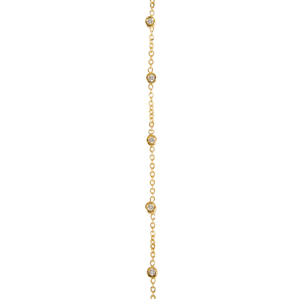 """DOTS"" 18K SIAM YELLOW GOLD HAND BRACELET"