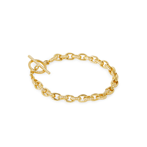 """DIAMOND ROW 5"" BRACELET"