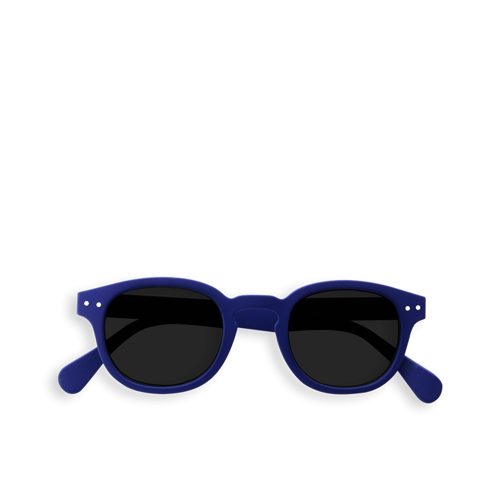 """C"" Navy Blue Sunglasses"