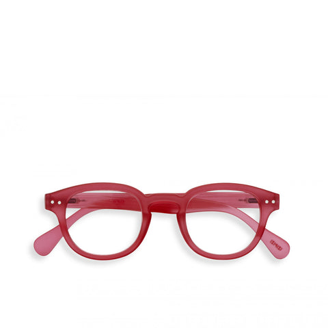 """C"" Sunset Pink Reading Glasses"