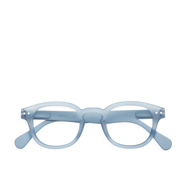 """C"" Cold Blue Reading Glasses"