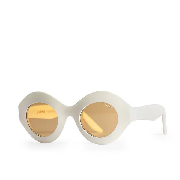 """CORA"" WHITE RAW SUNGLASSES"
