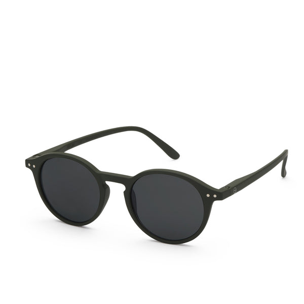"""D"" Kaki Green Sunglasses"