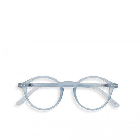 """D"" Aery Blue Reading Glasses"