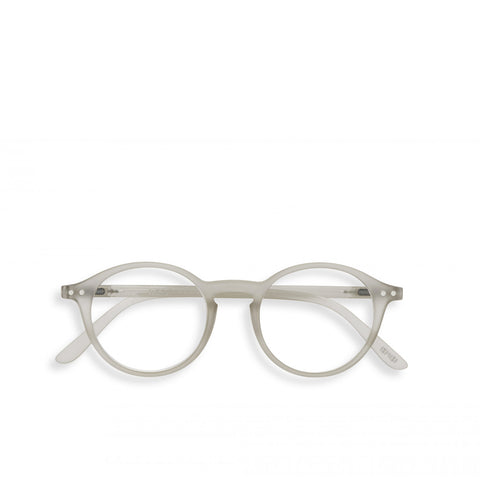 """D"" Defty Grey Reading Glasses"