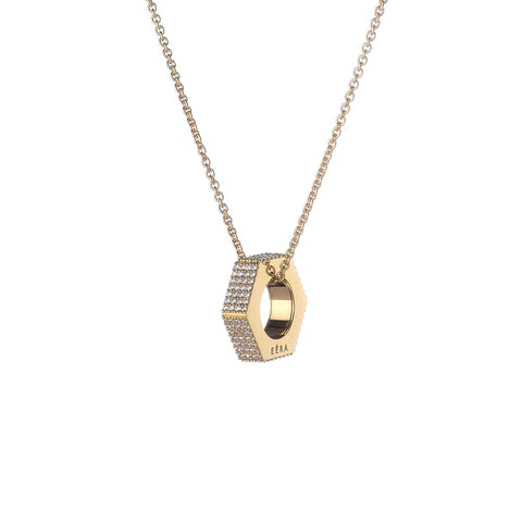 """BULLONE NECKLACE"" 18K YELLOW GOLD NECKLACE"
