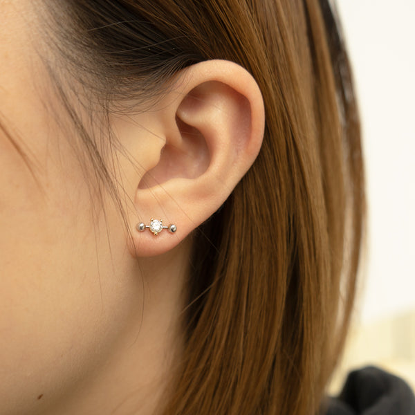 """TWO-IN-ONE"" MONO EARRING (TIO 5002.A)"