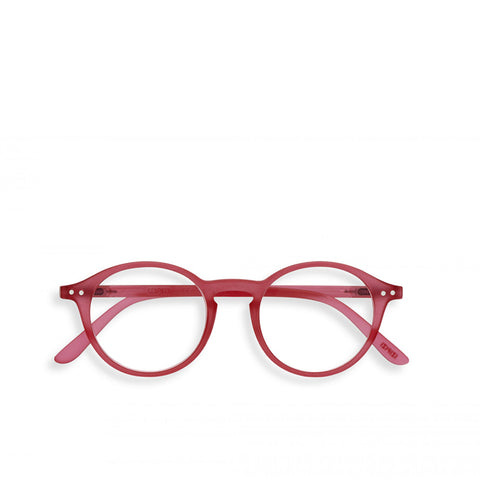 """D"" Sunset Pink Reading Glasses"