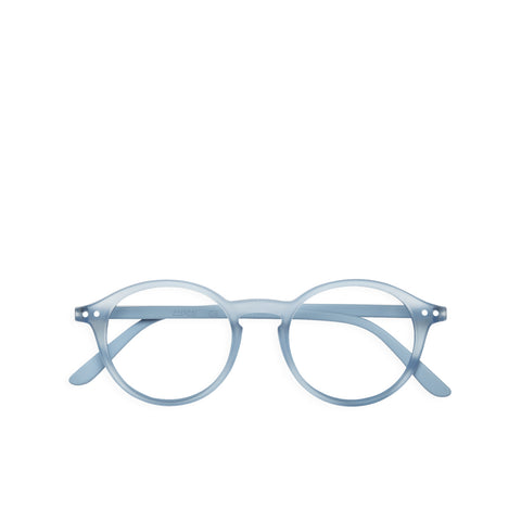 """D"" Cold Blue Reading Glasses"