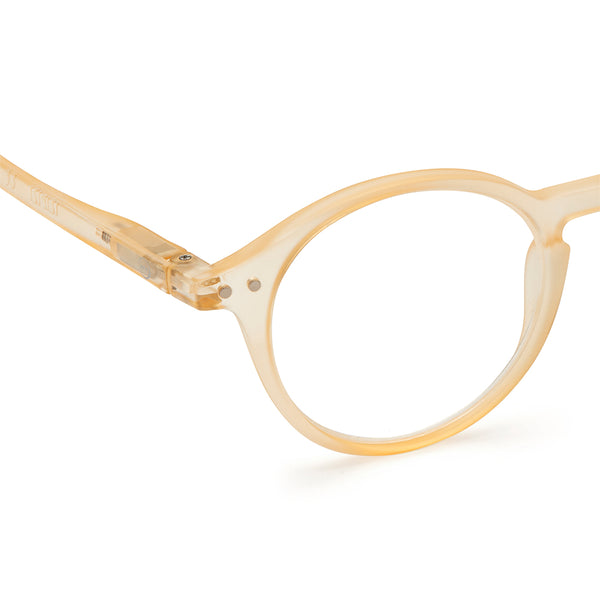 """D"" Fool's Gold Reading Glasses"