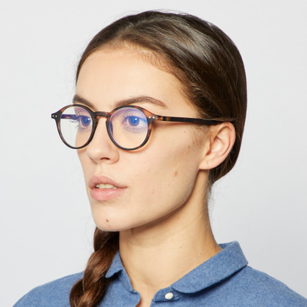 """D"" Tortoise Screen Reading Glasses"