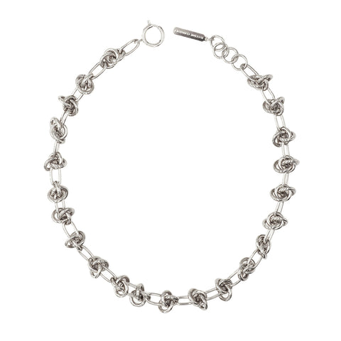 """DARIA CHOKER"" Palladium Necklace"