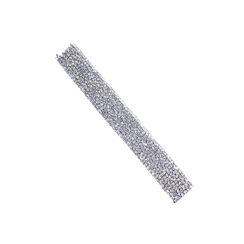 """Fine Diamond and White Gold"" Bracelet"