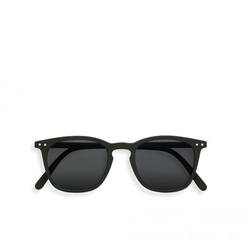 """E"" Kaki Green Sunglasses"