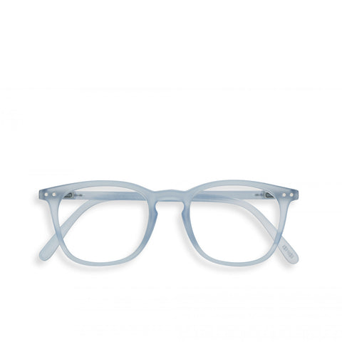"""E"" Aery Blue Reading Glasses"