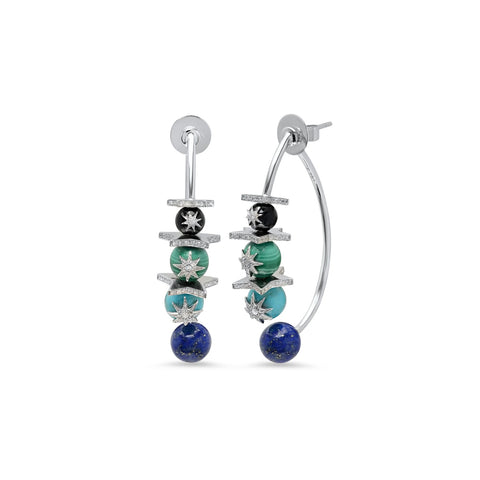 """VELA STAR"" EARRINGS"