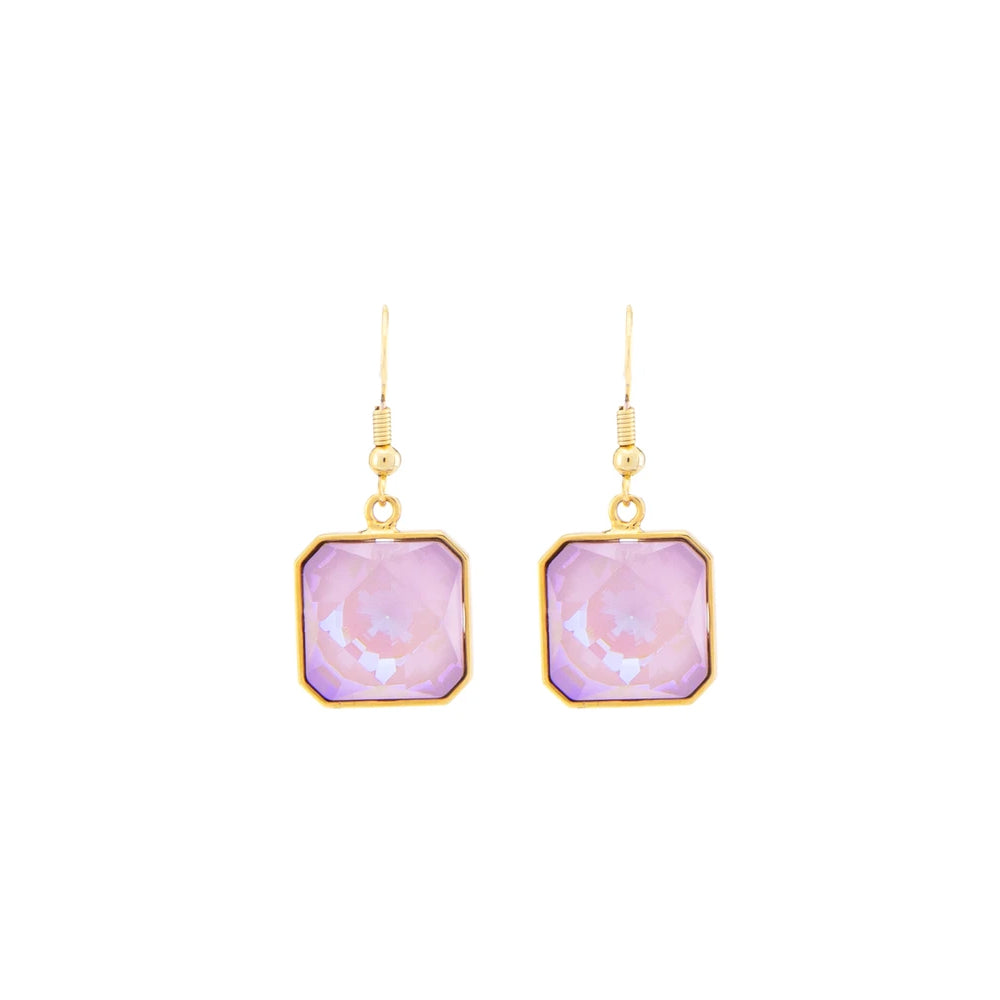"""BONBON"" LAVENDER EARRINGS"