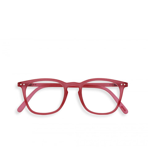 """E"" Sunset Pink Reading Glasses"