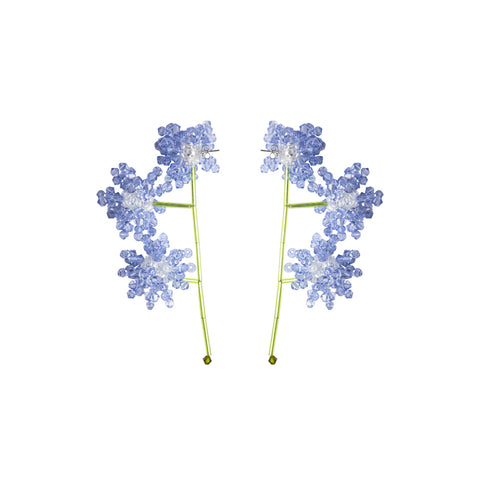 """ERICA VESTITA"" LAVENDER EARRINGS"