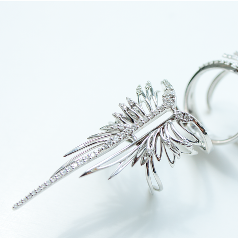 """Feather"" Ring"