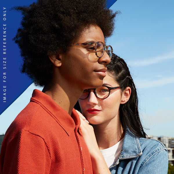"""H"" Black SCREEN Glasses"