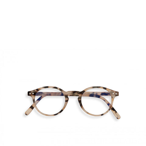 """H"" Light Tortoise SCREEN Glasses"