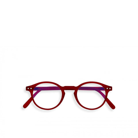 """H"" Red Crystal SCREEN Glasses"