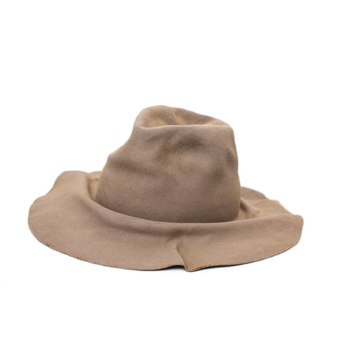 """Easy Burnt"" Beige Hat"