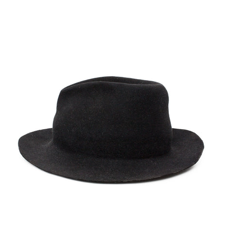 """Edge Burnt"" Black Hat"