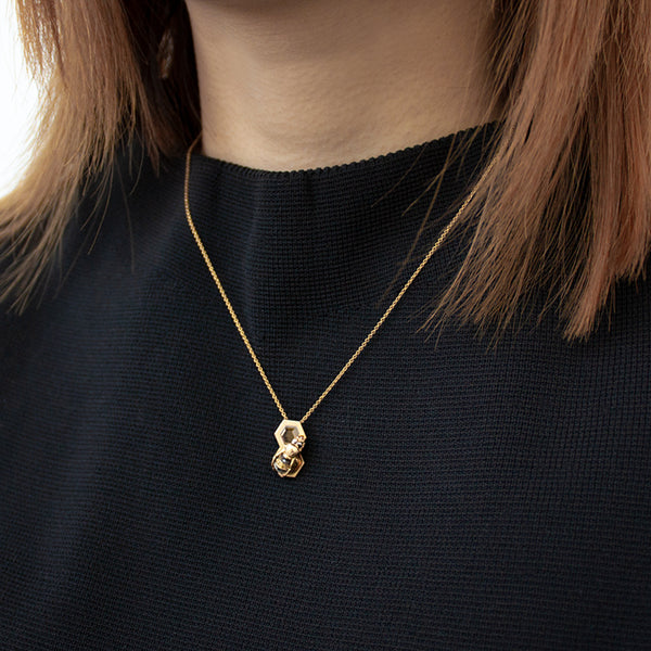 """BEE-HIVE"" NECKLACE"